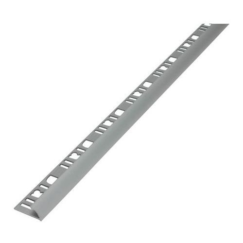 Profil aluminiowy narożny Diall 9 mm zewnętrzny srebrny mat 2,5 m, K30401