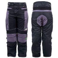Spodnie motocyklowe foibos twg-102, czarno-szary, 4xl marki W-tec