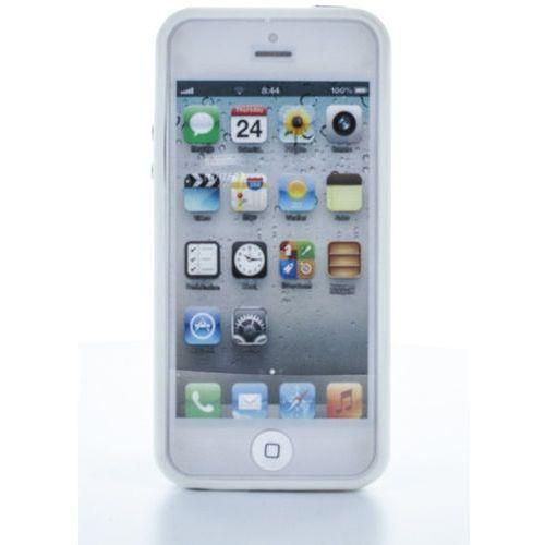Geffy - Etui iPhone SE / iPhone 5s / iPhone 5 bumper TPU/PVC white, GF-IPH5S420903