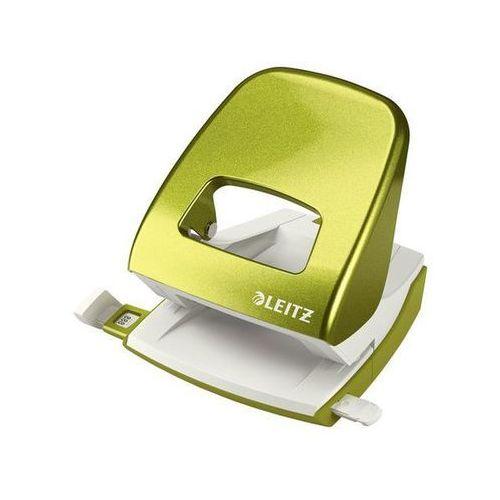 dziurkacz wow duży 5008, do 30 kartek, metaliczny zielony marki Leitz