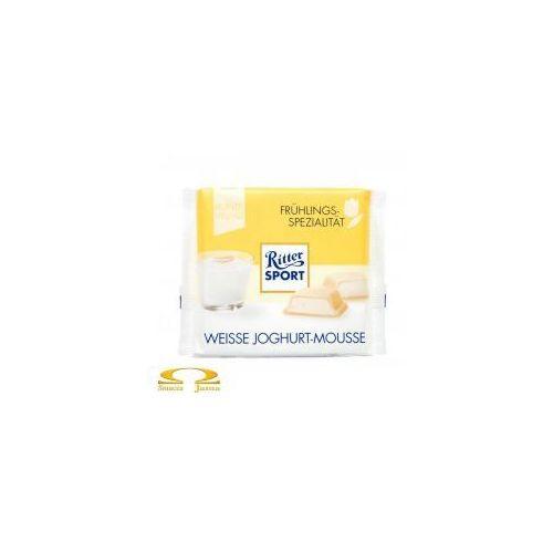 Czekolada Ritter Sport Weisse Joghurt-Mousse 100g, 5CB2-7834F
