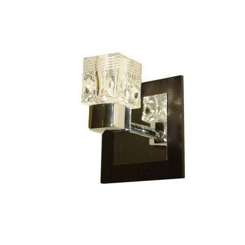 Kinkiet lampa ścienna Krislamp Sintra 1x40W G9 wenge CK0950A-1WCR, CK0950A-1WCR SINTRA/WENGE