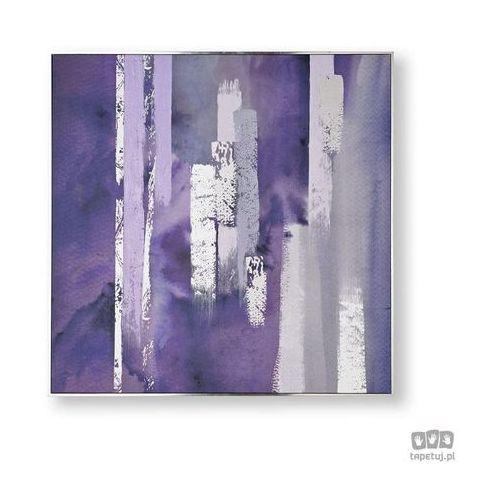 Obraz ręcznie malowany - Fioletowa harmonia 104015, 104015