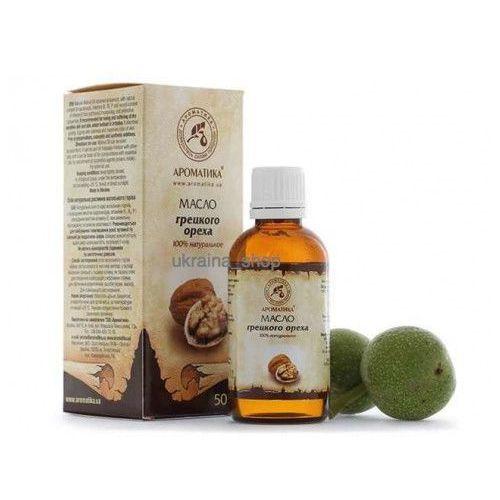 Olej z orzechów włoskich, 100% naturalny, 50 ml marki Aromatika