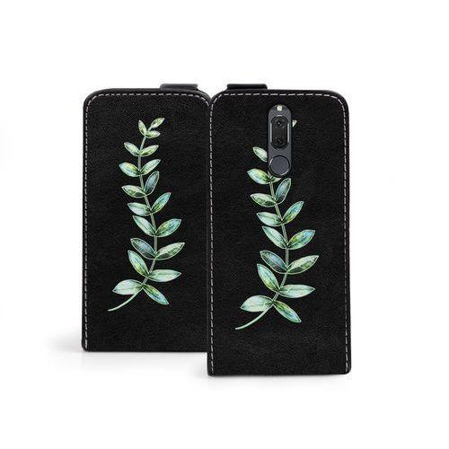 Huawei mate 10 lite - etui na telefon flip fantastic - zielona gałązka marki Etuo flip fantastic