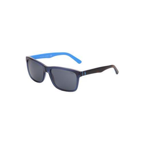Polo ralph lauren okulary przeciwsłoneczne niebieski / szary
