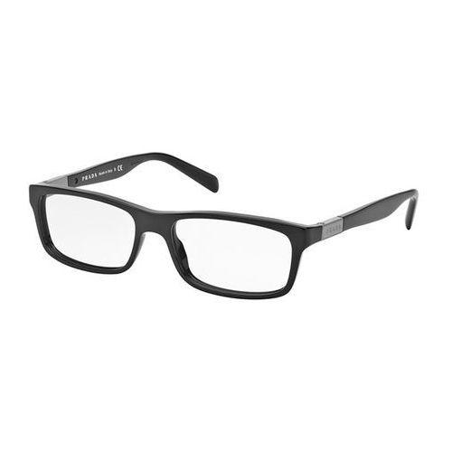Okulary korekcyjne pr02ova asian fit 1ab1o1 marki Prada