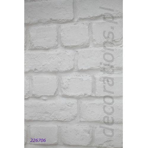 Tapeta cegła mur aqua relief 2014 226706 marki Rasch