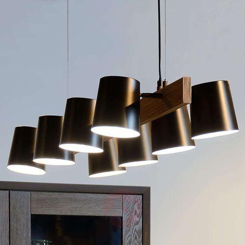 octo lampa wisząca czarny, 8-punktowe - nowoczesny - obszar wewnętrzny - octo - czas dostawy: od 4-8 dni roboczych marki Lucide