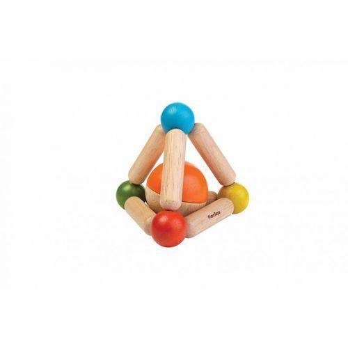 Plan toys Grzechotka trójkąt