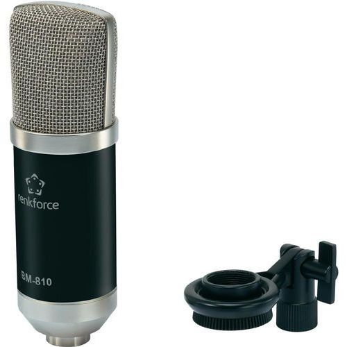 Mikrofon studyjny Renkforce BM-810 B, 100 Om, XLR z kategorii Mikrofony