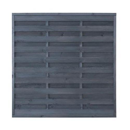 Płot szczelny 180x180 cm drewniany LAWA STELMET (5900886389617)