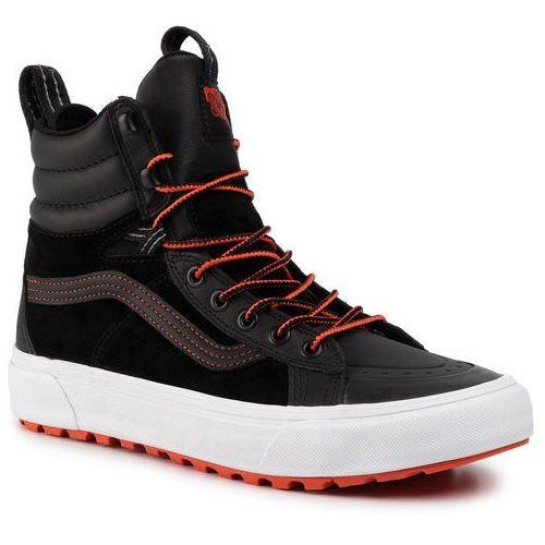Sneakersy VANS - Sk8-Hi Boot Mte 2 VN0A4P3GTUB1 (Mte) Black/Spice Orange