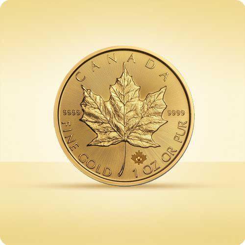 Royal canadian mint Kanadyjski liść klonowy 1 uncja złota - 15 dni roboczych