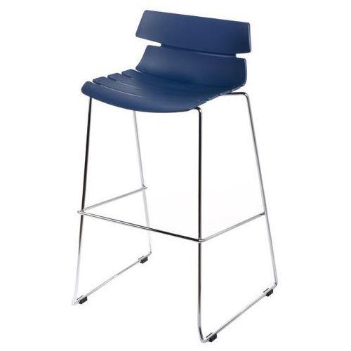 4689 stołek barowy techno niebieski marki D2