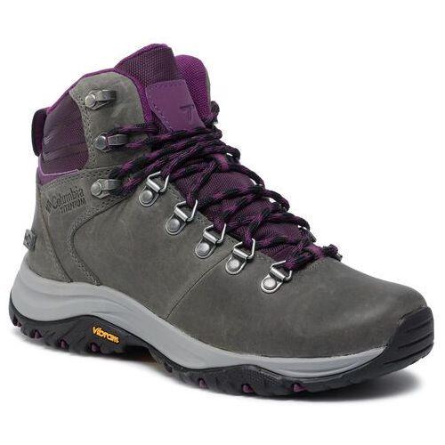 Trekkingi - 100mw titanum outdry bl0814 ti grey steel/black cherry 033 marki Columbia