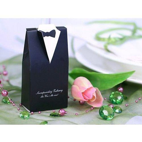 Pudełeczka dla gości weselnych - frak - 10 szt. marki Ap