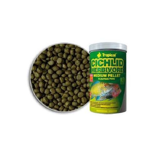TROPICAL Cichlid Herbivore Medium Pellet pokarm dla pielęgnic