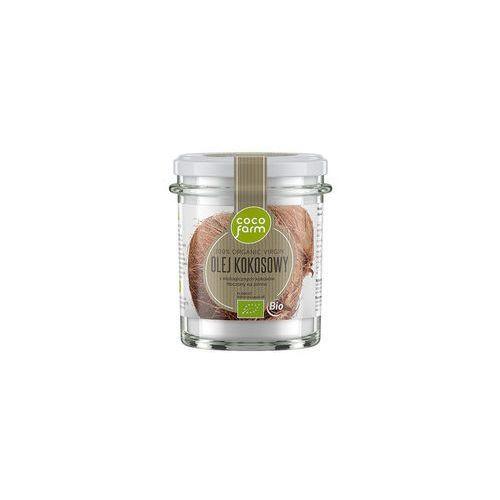 OKAZJA - Cocofarm Olej kokosowy 240g bio virgin
