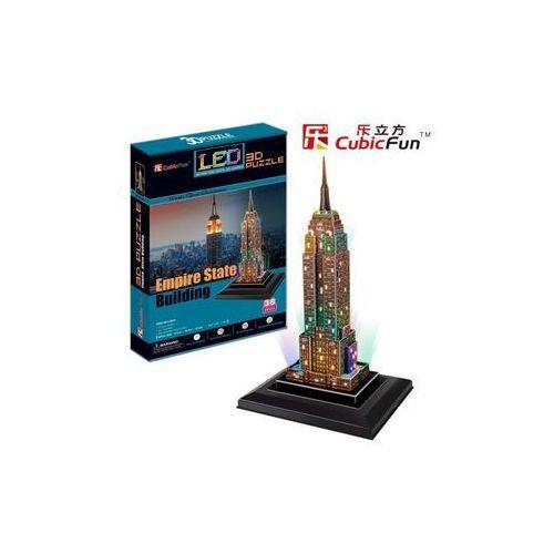 PUZZLE 3D EMPIRE STATE BUILDING (ŚWIATŁO