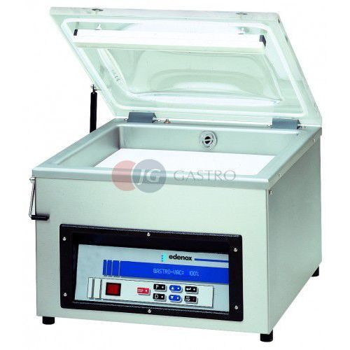 Pakowarka próżniowa stołowa z sensoryczną regulacją próżni 20 m3/h vac-20 s l 2a marki Edenox