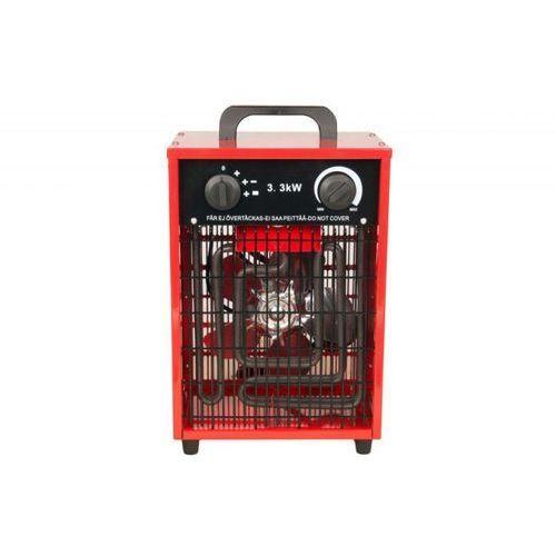Nagrzewnica elektryczna Inelco Neutral 3,3kW - produkt bez logo - wersja w czerwonej obudowie PROMOCJA, Inelco Neutral 3,3kW - red