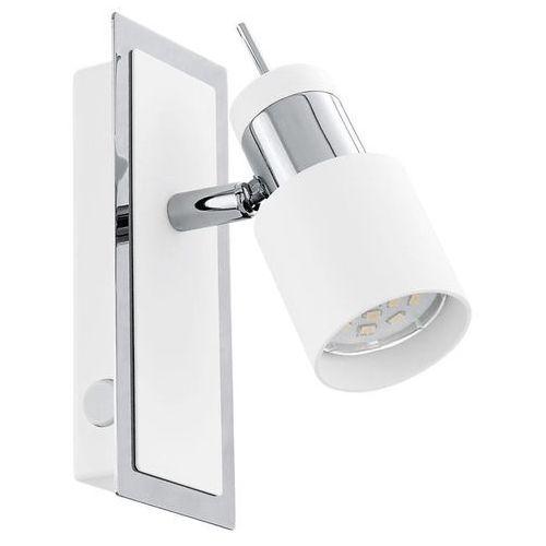 Plafon LAMPA sufitowa DAVIDA 92084 Eglo regulowana OPRAWA ścienna kinkiet IP20 reflektorek biały, 92084