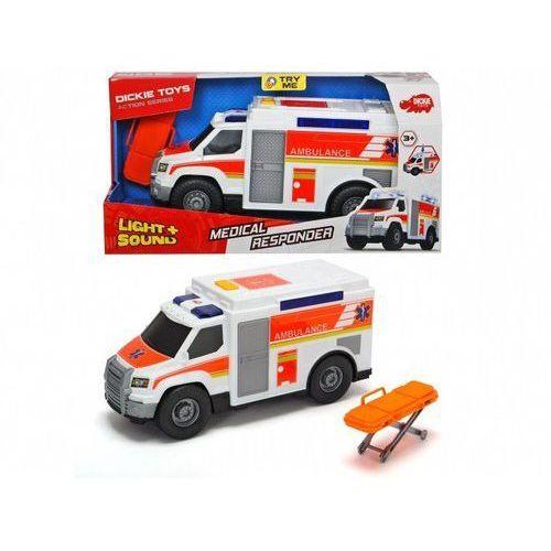 Auto Ambulans biały 30cm (4006333049897)
