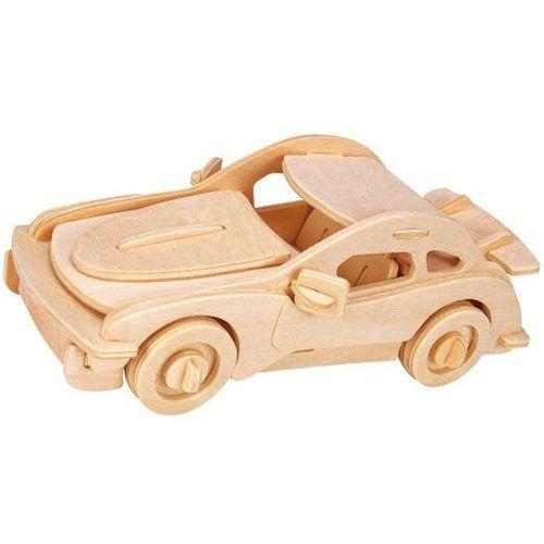 Łamigłówka drewniana Gepetto - Samochód sportowy (Sports car), AU_5425004731548