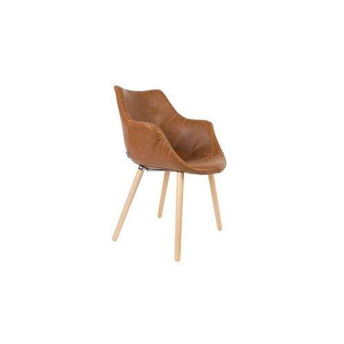 Zuiver Krzesło TWELVE VINTAGE brązowe 1100289