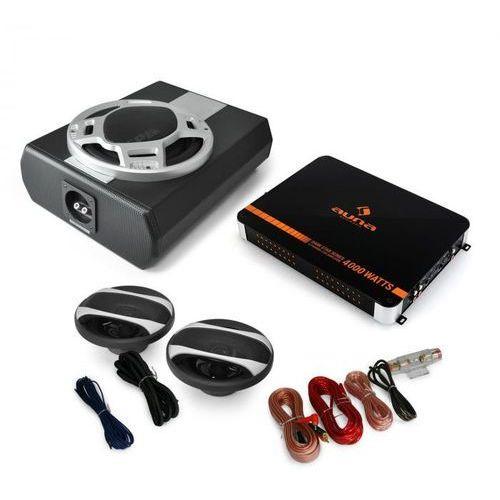 """Elektronik-star Zestaw samochodowy audio 2,1""""black line 340"""" z głośnikami (4260275629375)"""