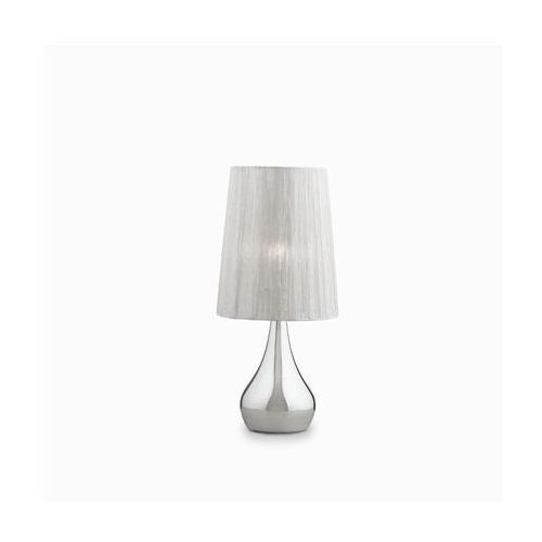 Ideal-lux Lampa stołowa eternity tl1 small srebrna, 35987