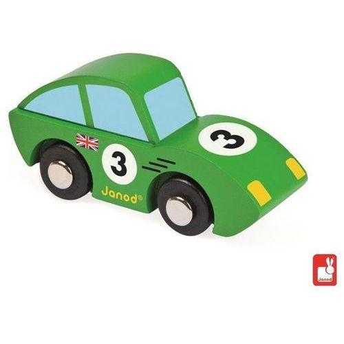 JANOD Wyścigówka drewniana Roadster, zielony - Wyścigówka drewniana Roadster, zielony