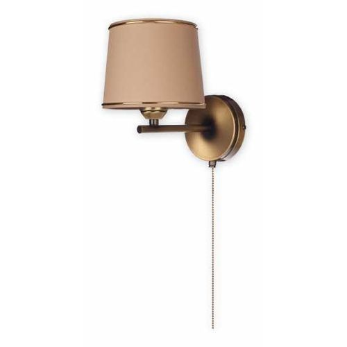 Lemir Sambra O1820 K1 PAT kinkiet lampa ścienna 1x60W E27 patyna / cappucino, O1820 K1 PAT
