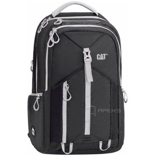 "Caterpillar rainier plecak miejski na laptopa 15,6"" cat / black - black (5711013039202)"
