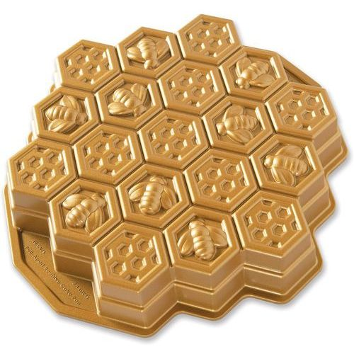 Forma do ciasta plaster miodu złota (85477) marki Nordic ware