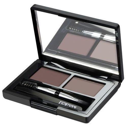 Pupa Eyebrow design set zestaw do makijażu brwi 002 brown 1,1g –