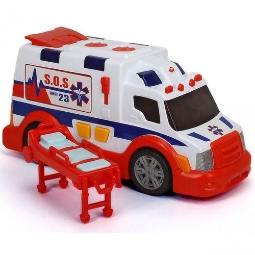 Dickie Karetka Ambulans pogotowie ratunkowe Speed Champs Światło Dźwięk