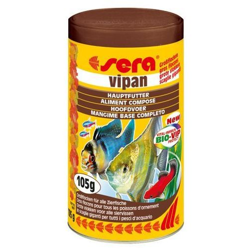 Sera vipan gf - pokarm podstawowy o bardzo dużych płatkach