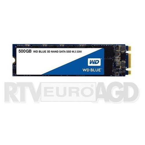 WD Blue M.2 500GB - produkt w magazynie - szybka wysyłka!, WDS500G2B0B