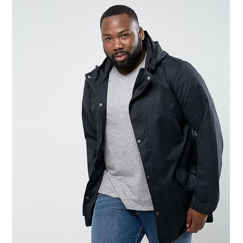 D-struct plus longline lightweight parka - black