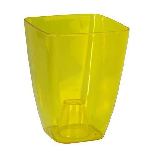 Form-plastic Osłonka plastikowa 13 x 13 cm żółta storczyk (5907474311746)