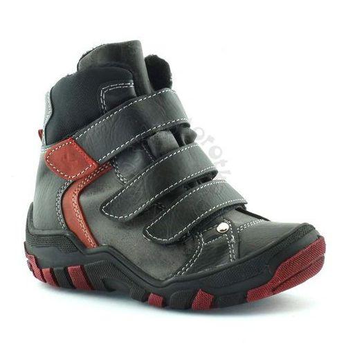 Kornecki Buty zimowe dla dzieci 06037 - czerwony ||czarny