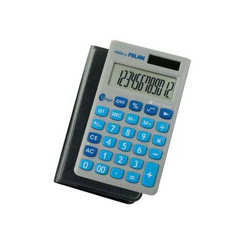 Kalkulator Milan kieszonkowy 12 pozycji w etui (8411574047346)