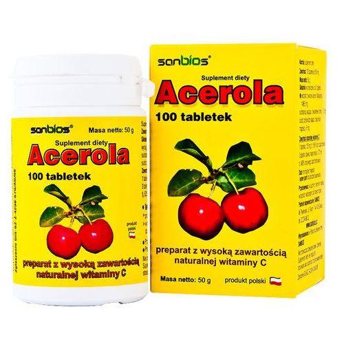 Tabletki Acerola 500mg 100 tabletek