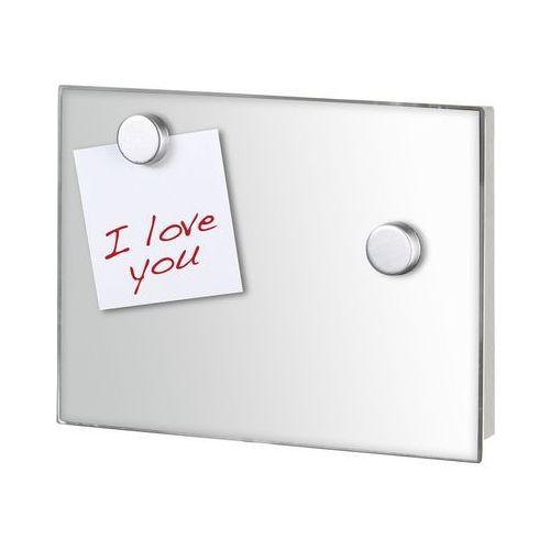 Praktyczna szafka na klucze mirror, na ścianę, 7 kluczy, lustro, dekoracja, tablica, magnesy, stal nierdzewna, marka marki Wenko