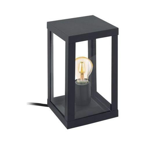 Eglo alamonte 1 lampa stołowa czarny, 1-punktowy - dworek/vintage - obszar zewnętrzny - alamonte - czas dostawy: od 2-3 tygodni (9002759947897)