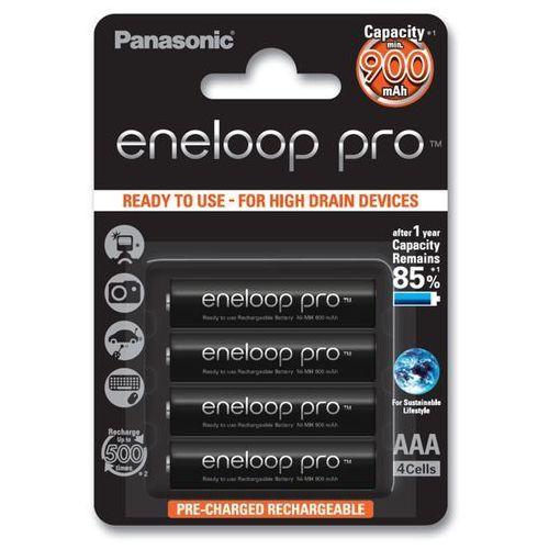 Panasonic Eneloop PRO AAA 900 mAh 500 cykli 4szt, 154020