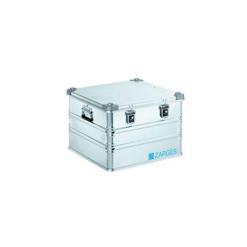 Zarges Aluminiowa skrzynka transportowa,poj. 115 l, dł. x szer. x wys. wewn. 550 x 550 x 380 mm