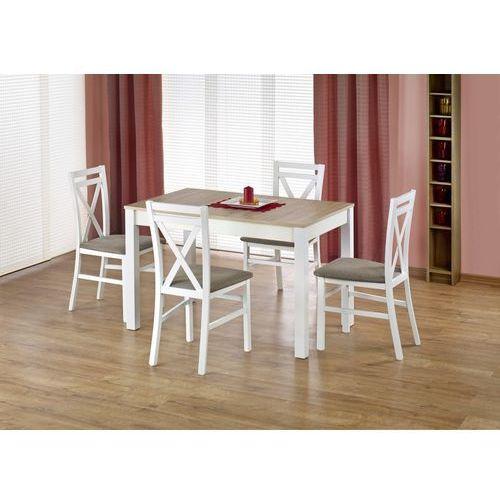 Zestaw stołowy Halmar - rozkładany stół Maurycy + 4 krzesła Dariusz